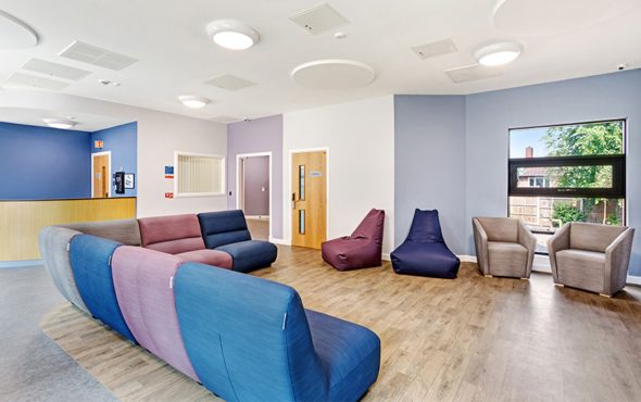 Hopewood CAMHS mental health furniture case study