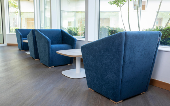 Belfast Health and Social Care Mental Health Furniture Case Study